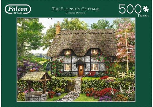 Fleurige cottage  - 500 stukjes