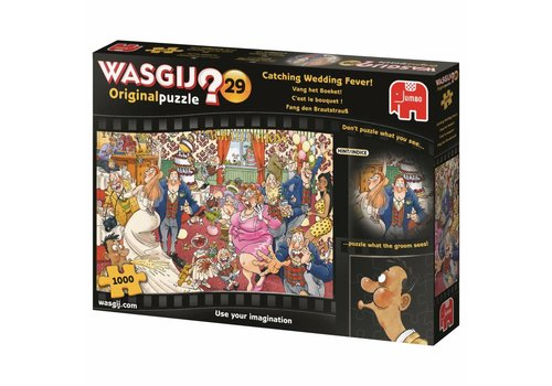 Wasgij Original 29 - Vang het Boeket! - 1000 stukjes