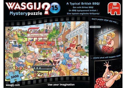 Wasgij Mystery 15 - Een echte Britse BBQ! -  1000 stukjes