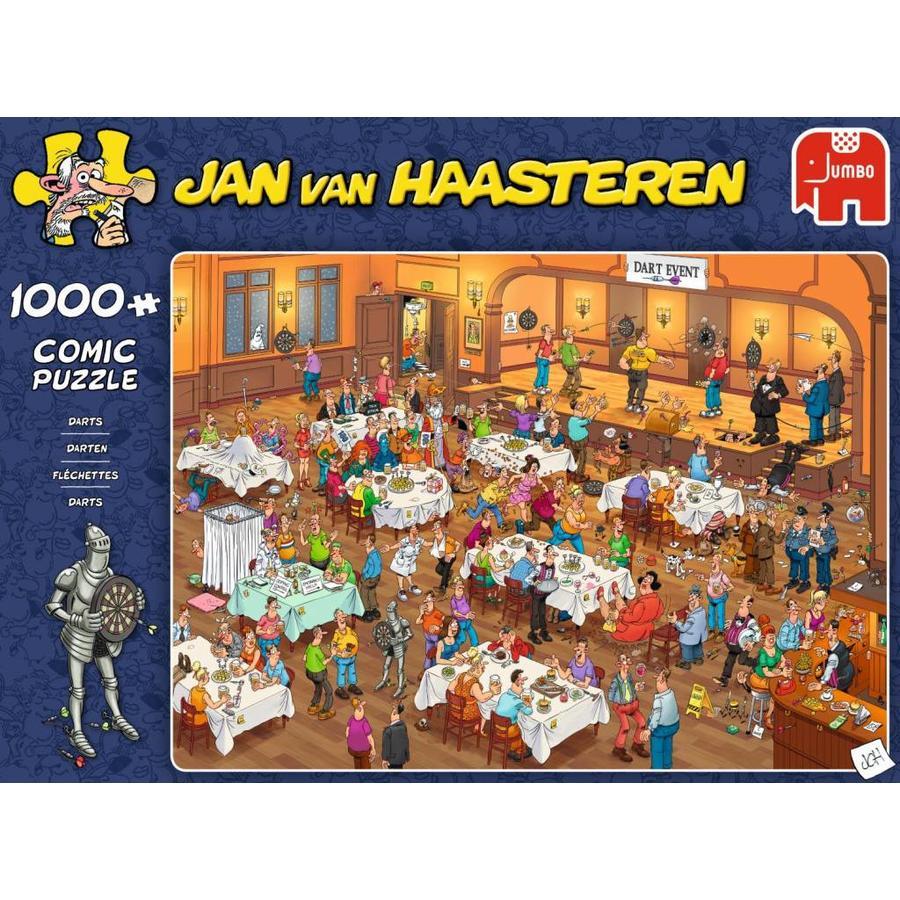 Darts - JvH  - puzzel van 1000 stukjes-1