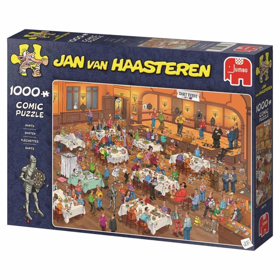 Darts - JvH  - puzzel van 1000 stukjes-3