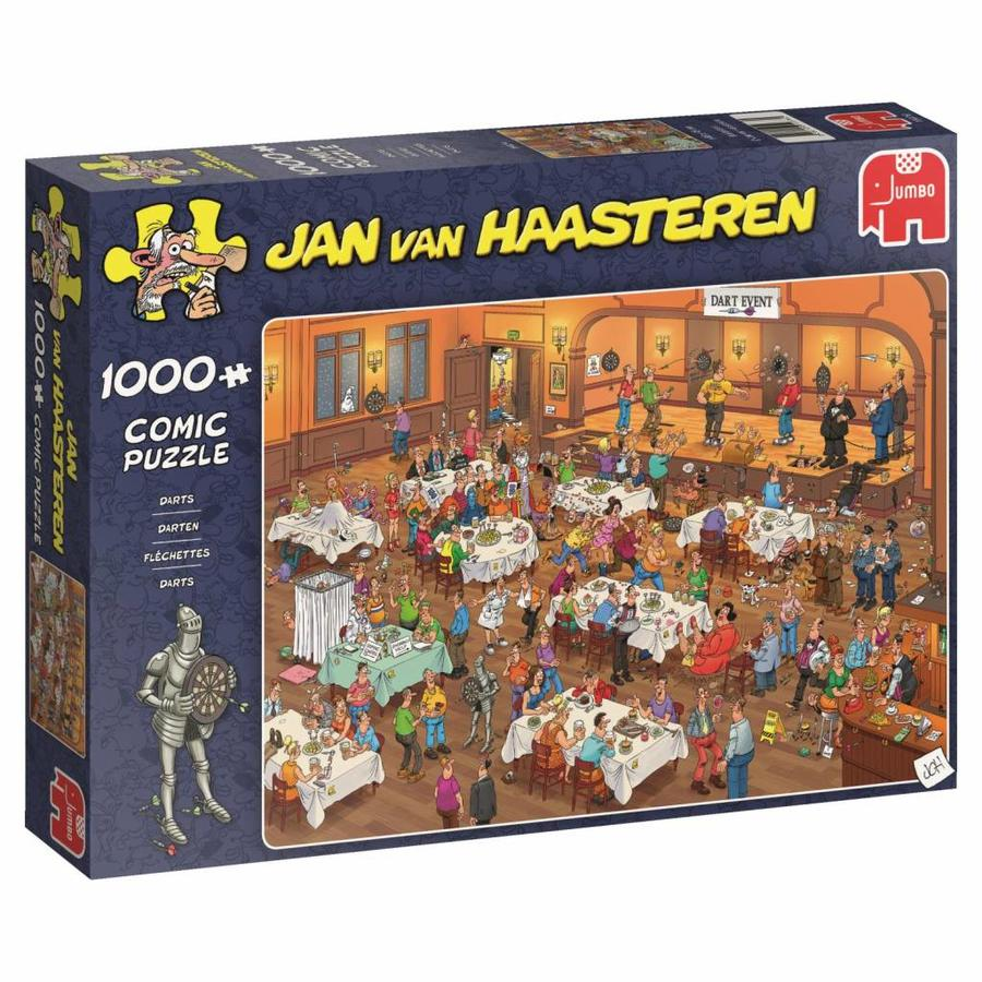 Darts - JvH  - puzzel van 1000 stukjes-4