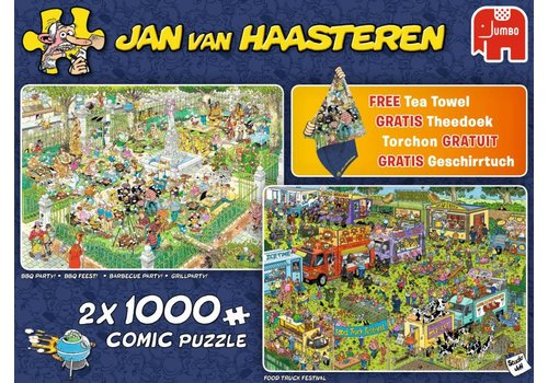 Food Festival - JvH - 2 x 1000 pieces