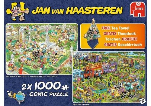 Food Festival - JvH - 2 x 1000 stukjes
