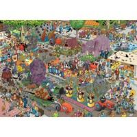 thumb-Bloemencorso - JvH - puzzel van 1000 stukjes-2