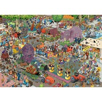 thumb-Défilé de fleurs - JvH - 1000 pièces - puzzle-2