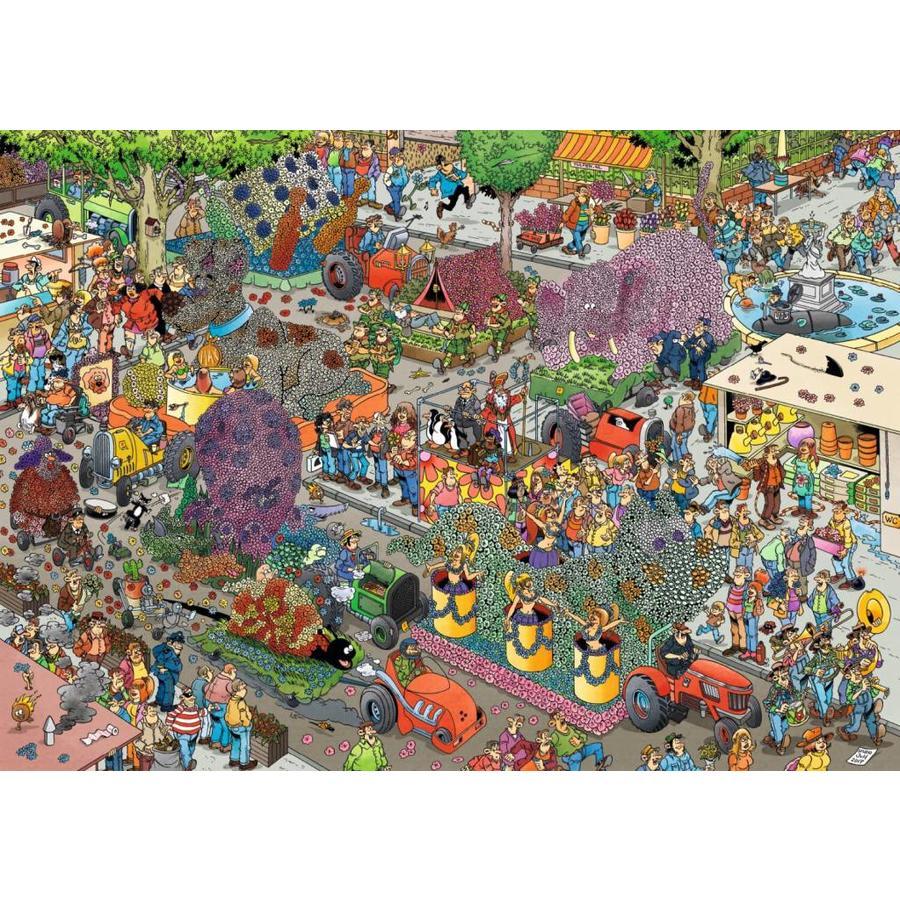 Bloemencorso - JvH - puzzel van 1000 stukjes-2