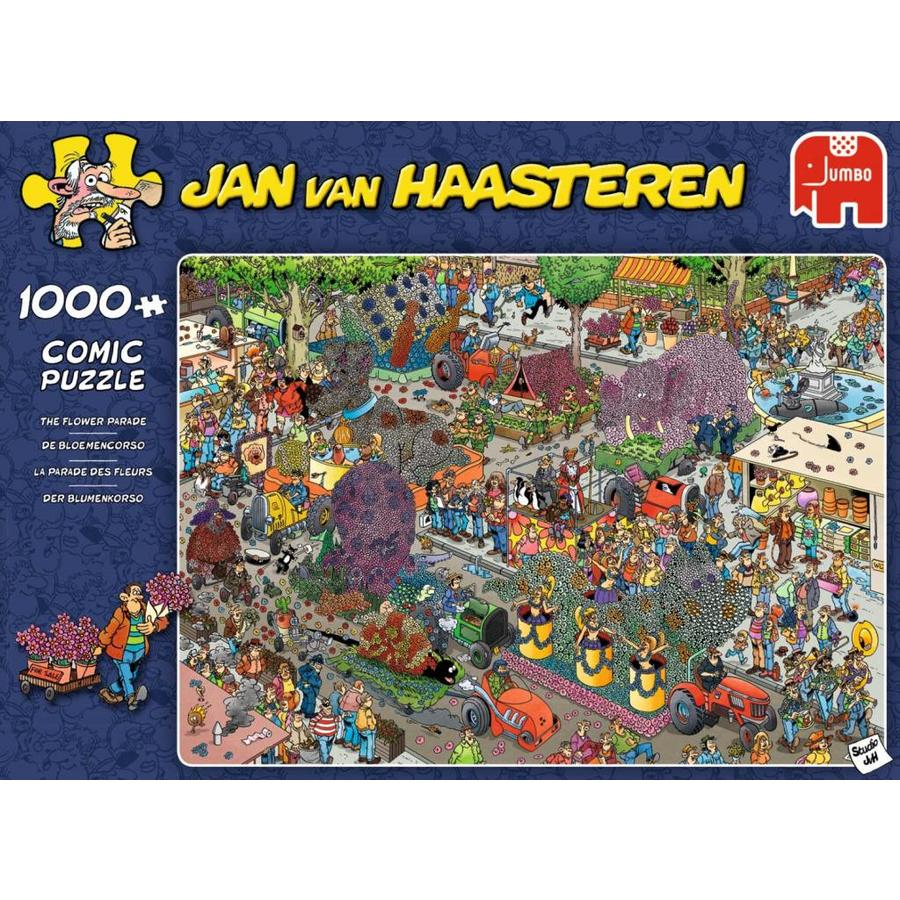 Bloemencorso - JvH - puzzel van 1000 stukjes-1