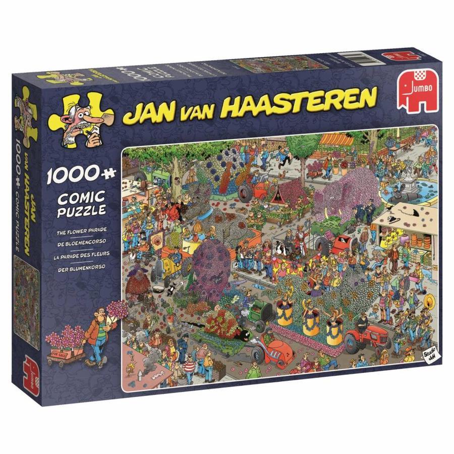 Défilé de fleurs - JvH - 1000 pièces - puzzle-3