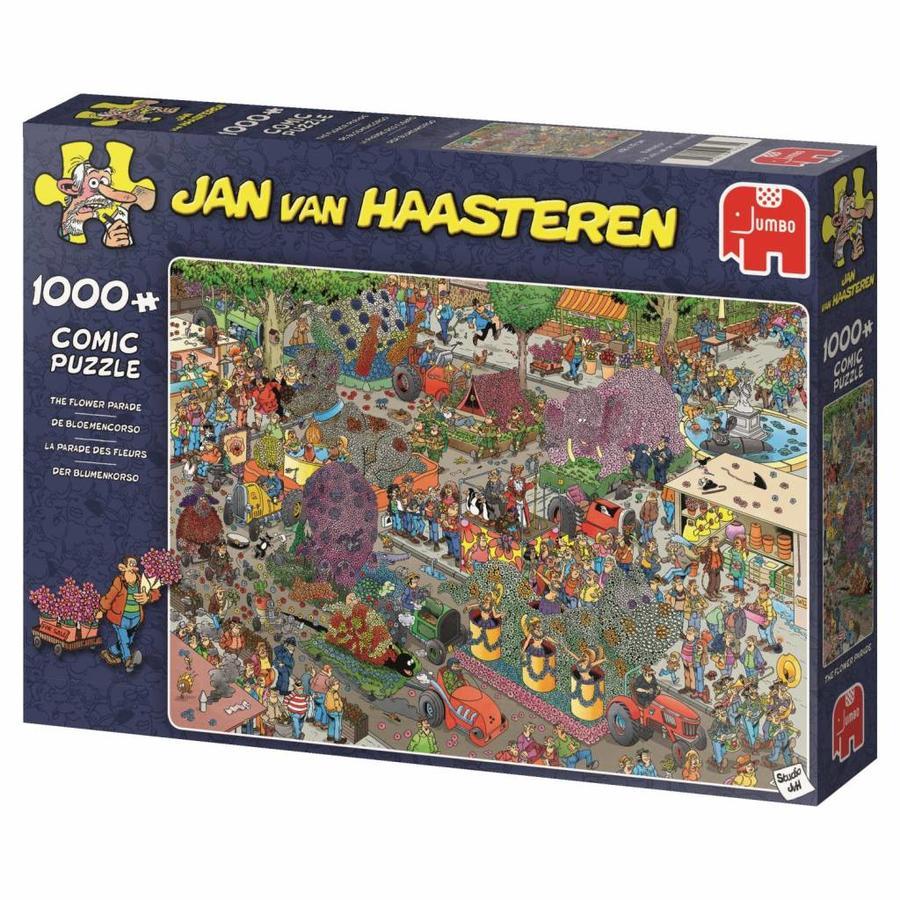 Défilé de fleurs - JvH - 1000 pièces - puzzle-4