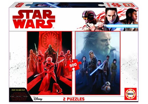 Star Wars - The Last Jedi  - 2 x 500 pieces puzzle