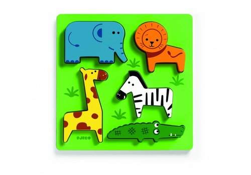 Djeco Les animaux d'Afrique - 5 pièces