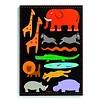 Djeco Gigantische wilde dieren puzzel - 11 stukjes