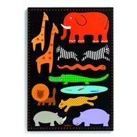 thumb-Gigantische wilde dieren puzzel - 11 stukjes-1