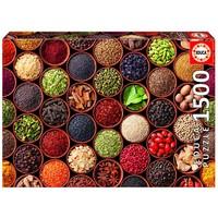 thumb-Kruiden en Specerijen - legpuzzel van 1500 stukjes-1