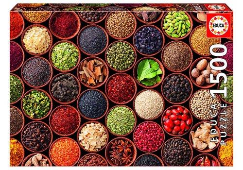 Kruiden en Specerijen - 1500 stukjes
