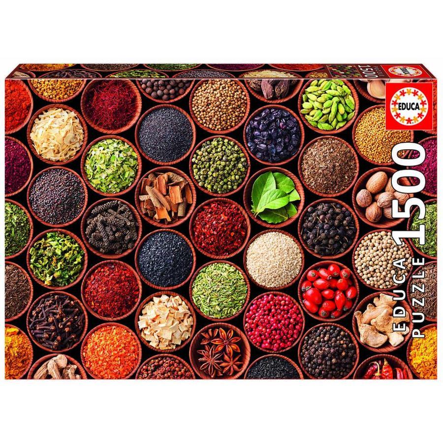 Kruiden en Specerijen - legpuzzel van 1500 stukjes-1