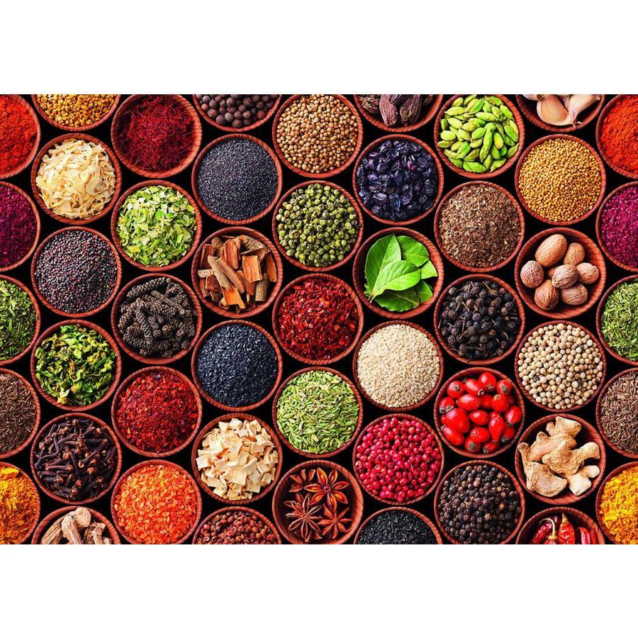 Epices et Condimentos - puzzle de 1500 pièces-2