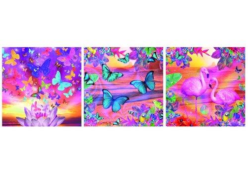 Tropische zichten - Deco - 3 x 500 stukjes