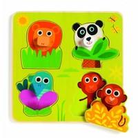 Kiekeboe in the jungle - 4 pieces