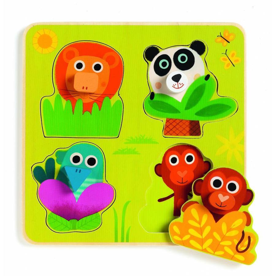 Kiekeboe in the jungle - 4 pieces-1