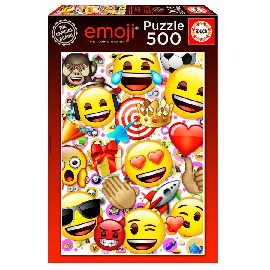 Emoji - legpuzzel van 500 stukjes-1