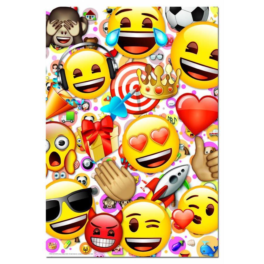 Emoji - legpuzzel van 500 stukjes-2