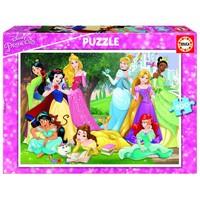 thumb-Prinsessen van Disney - legpuzzel van 500 stukjes-1