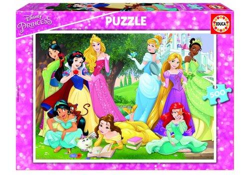 Prinsessen van Disney  - 500 stukjes