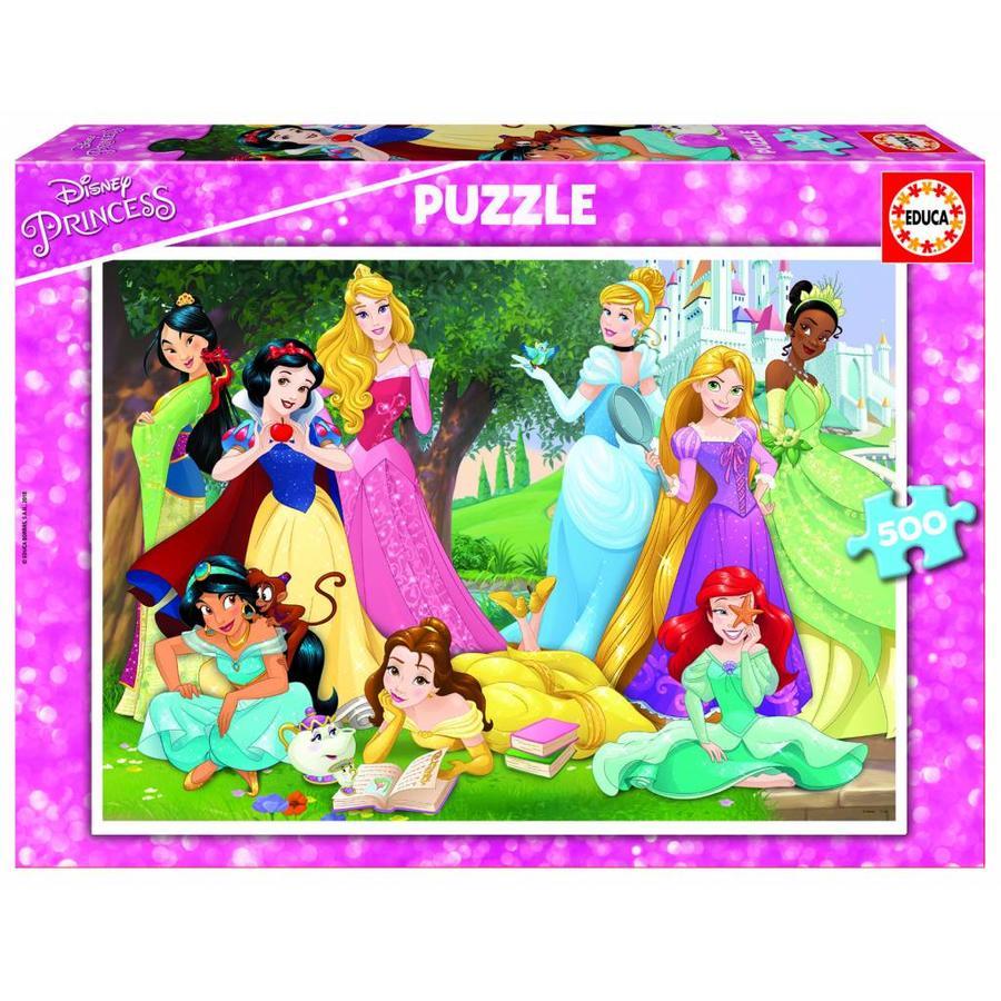 Prinsessen van Disney - legpuzzel van 500 stukjes-1