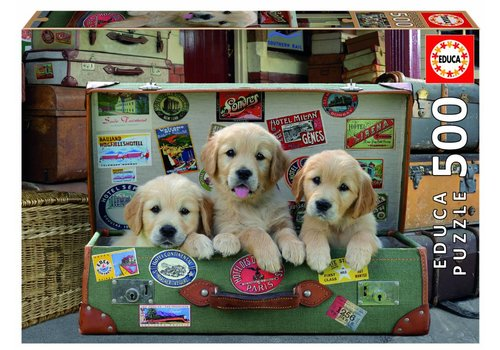 Puppies in the luggage - 500 pieces