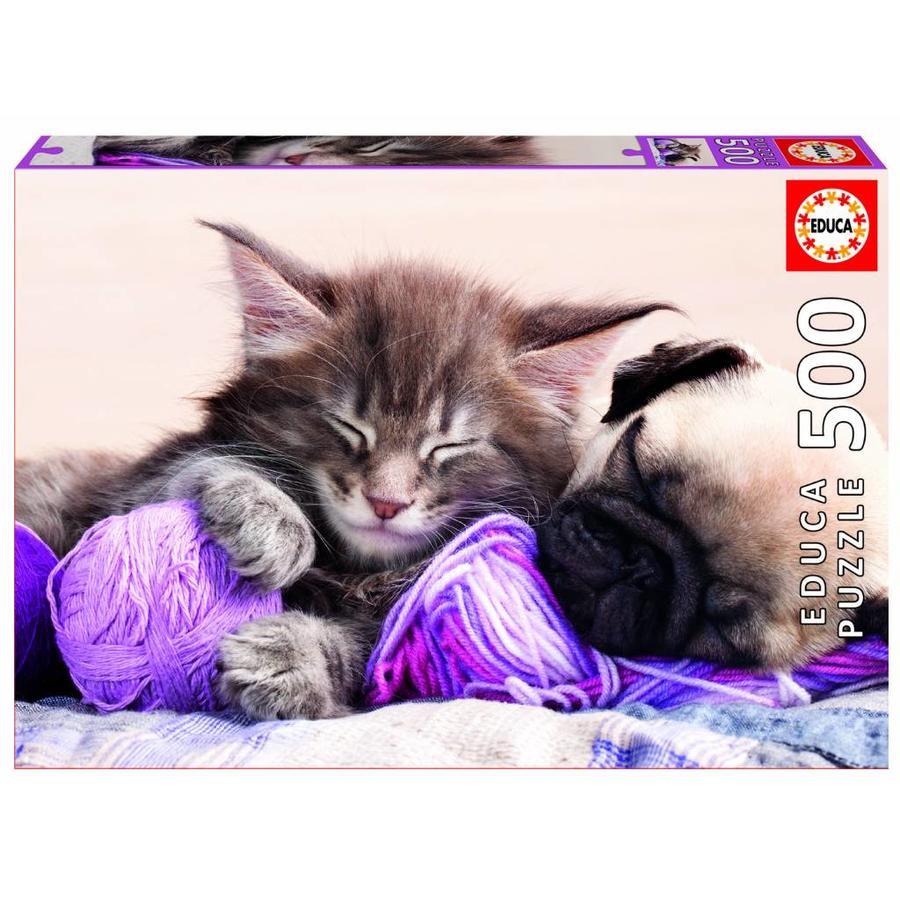 Droom vriendjes - legpuzzel van 500 stukjes-1
