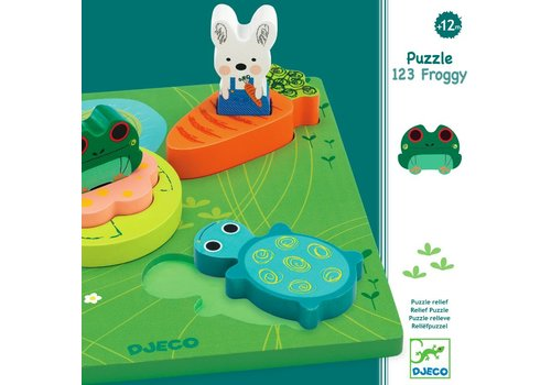 1, 2, 3 Froggy - 6 pieces