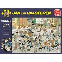 thumb-Veemarkt - JvH  - puzzel van 2000 stukjes-1