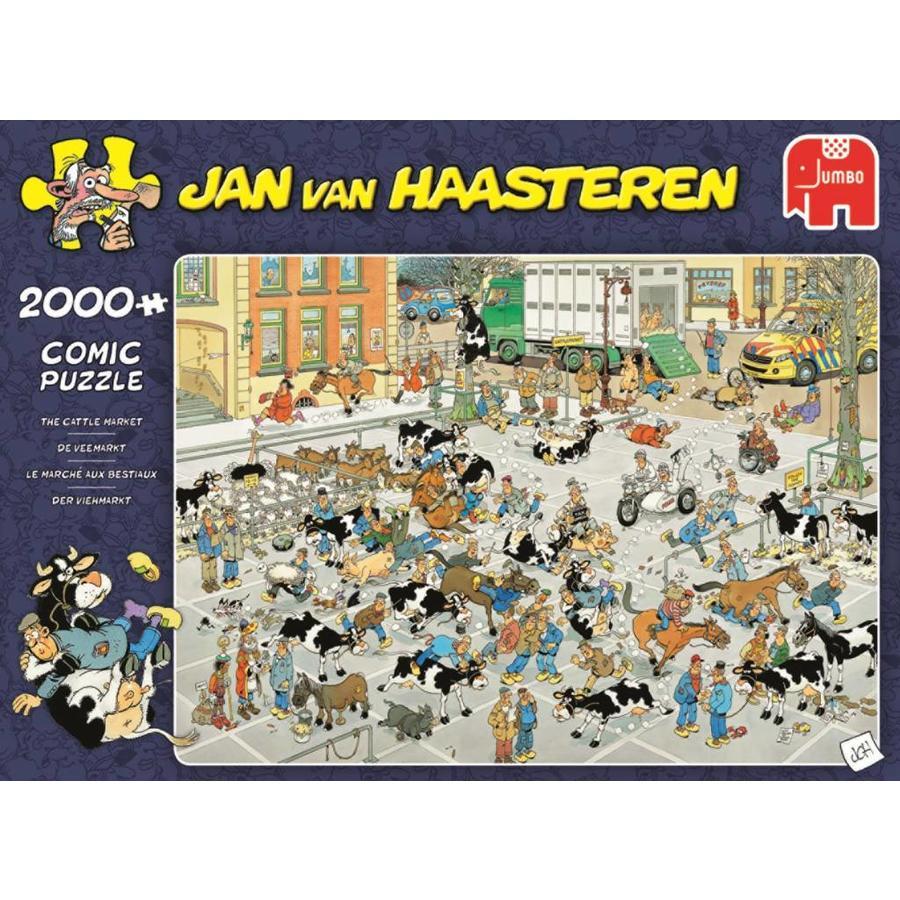 Veemarkt - JvH  - puzzel van 2000 stukjes-1