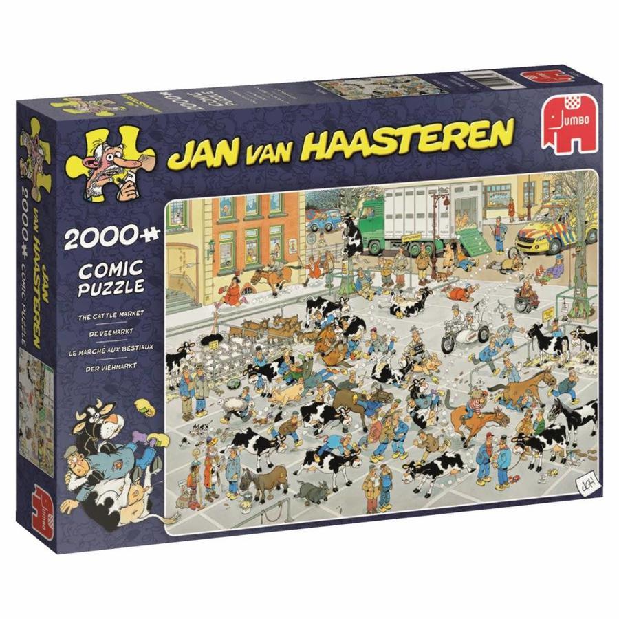 Veemarkt - JvH  - puzzel van 2000 stukjes-3