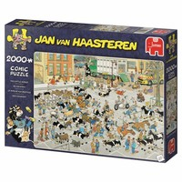 thumb-Veemarkt - JvH  - puzzel van 2000 stukjes-4