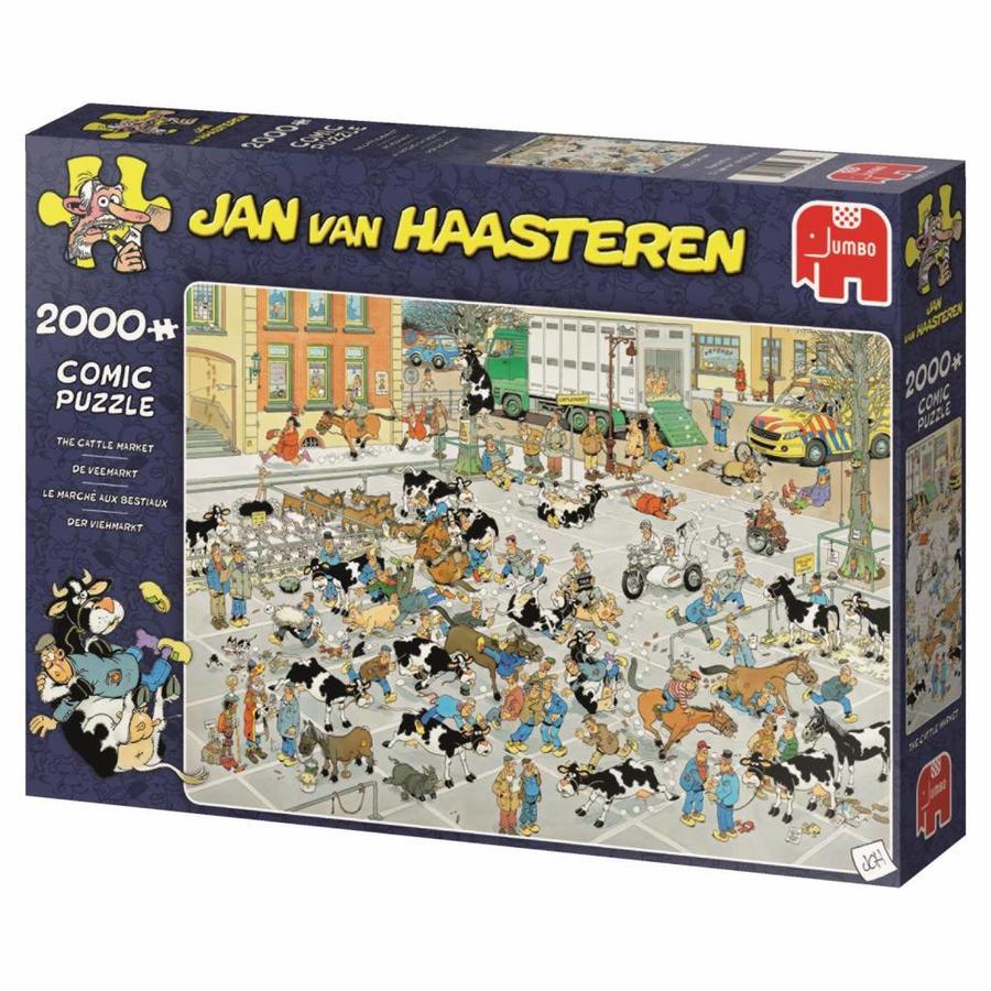 Veemarkt - JvH  - puzzel van 2000 stukjes-4
