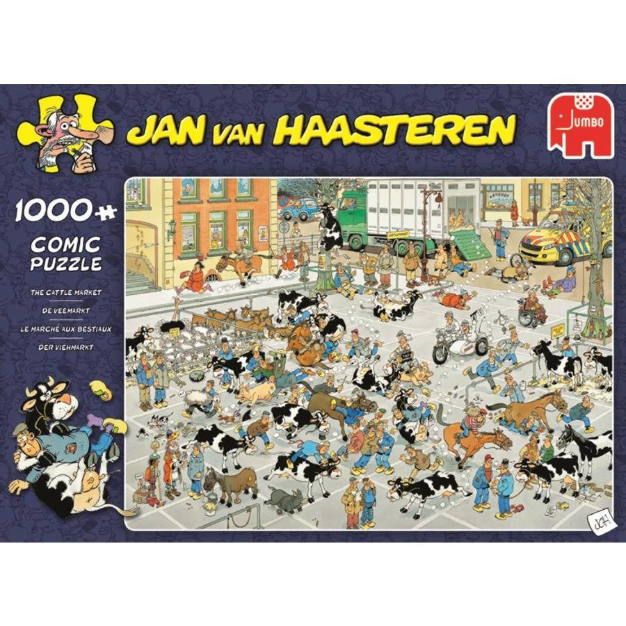 Veemarkt - JvH  - puzzel van 1000 stukjes-1
