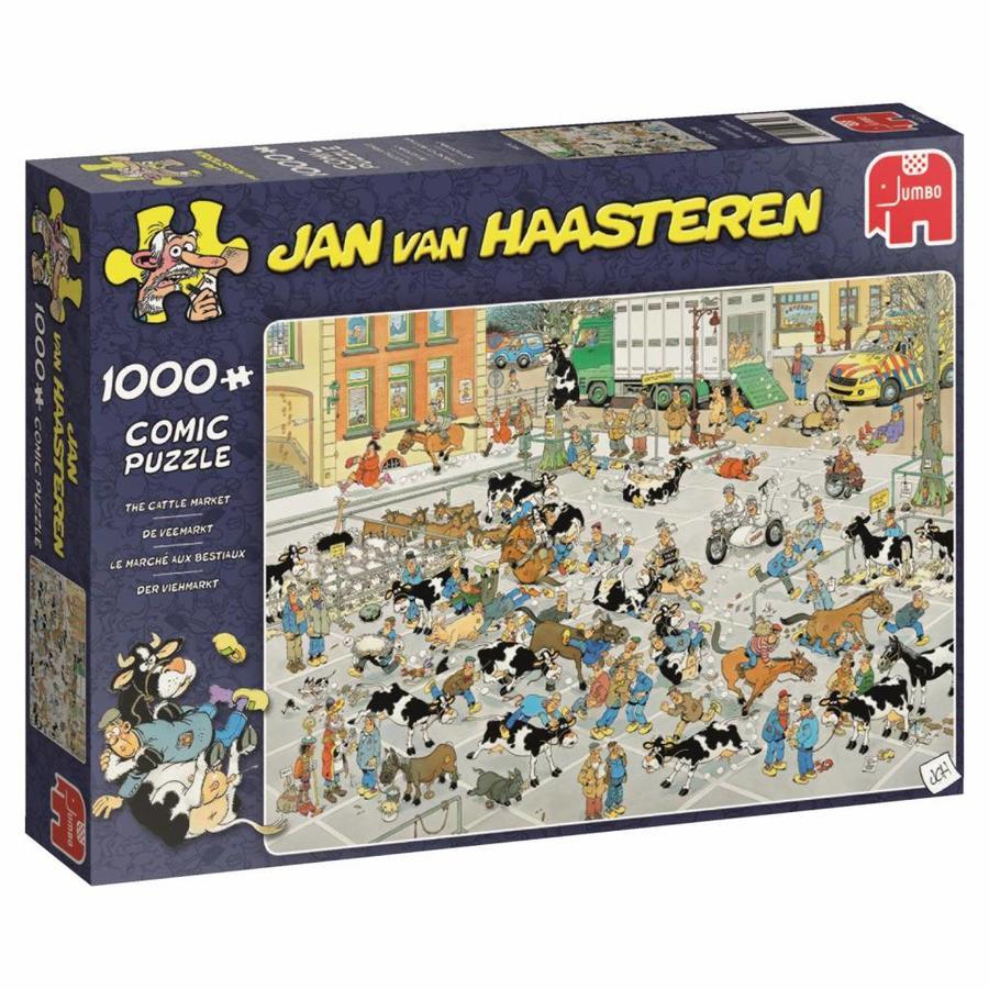 Veemarkt - JvH  - puzzel van 1000 stukjes-3