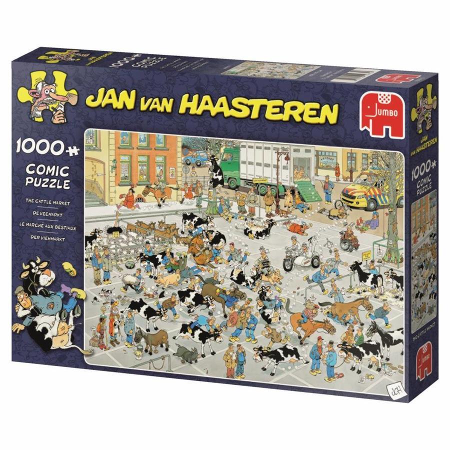 Veemarkt - JvH  - puzzel van 1000 stukjes-4