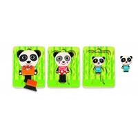 thumb-Laagjespuzzel - Panda - 6 stukjes-2