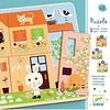 Djeco Laagjespuzzel Het huis vol leven - 12 stukjes