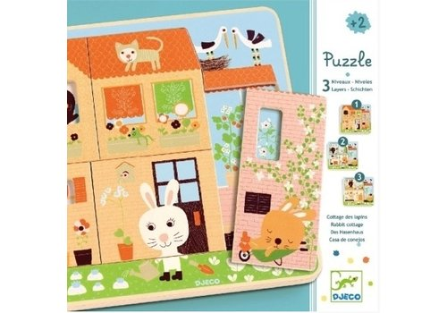Load Puzzle The house full of life - 12 pieces