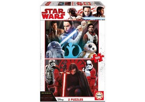 Star Wars - The Last Jedi - 2 x 100 pieces