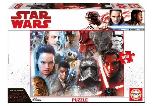 Star Wars - The Last Jedi - 300 pieces