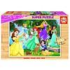 Educa HOUT: Disney Prinsessen - houten puzzel van 100 stukjes