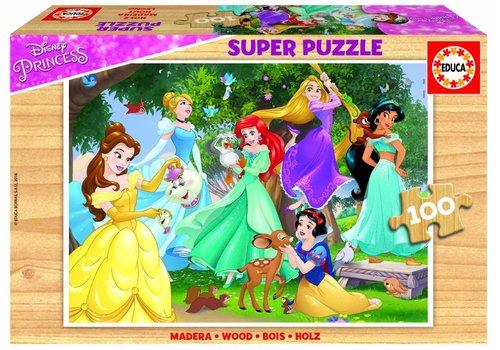 WOOD: Disney Prinsessen - 100 pieces