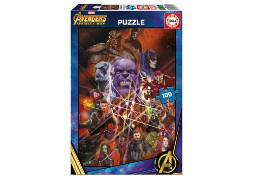 Avengers - Infinity War - 100 pieces