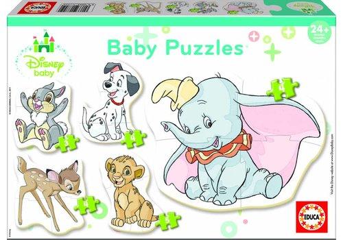 Baby Disney dieren - 3, 4 en 5 stukjes